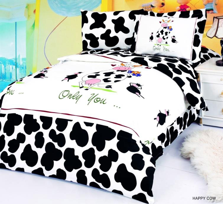 Happy cow fun duvet covers for kids for Cow bedroom ideas