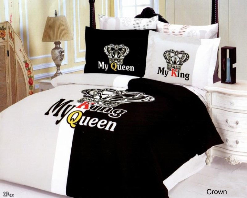 Crown 6 Piece Full Queen Bedding Royalty The King