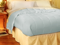 Pacific Coast�<br>Down Blanket<br><small>The luxury of down in a light weight blanket (Blue Ice) (King)</small>