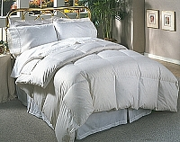 400 Egyptian Down Comforter - White Goose Down Comforter with 400TC Egyptian Cotton (Twin)