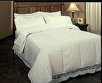 Roma Down Comforter - King Size White Goose Down Comforter, 800TC