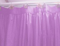Solid Violet Purple Color Shower Curtain