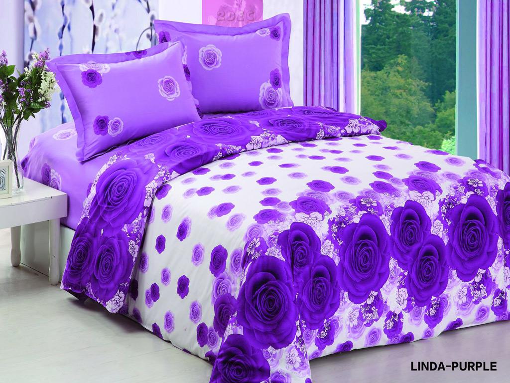 Linda Purple Beautiful Purple Roses That Reverses With