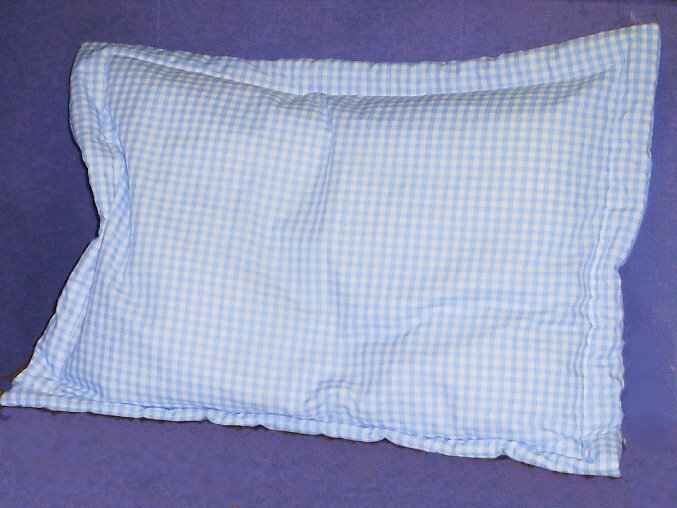 Gingham Pillow Shams Fits Crib Standard Queen And King