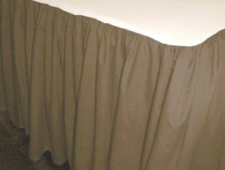 Taupe Bed Skirt 28 Images Khaki Tailored
