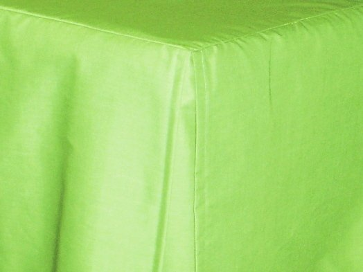 Lime Green Tailored Bedskirt For Cribs And Daybeds And