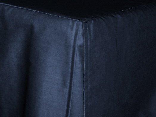 Navy Blue Bed Skirt 98