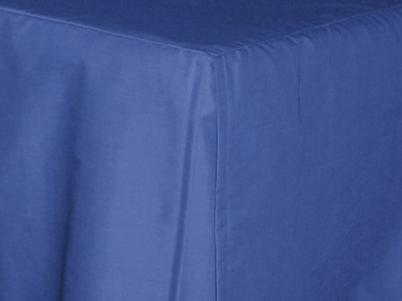 royal blue tailored bedskirt for cribs and daybeds and