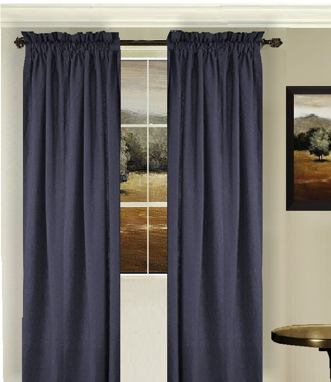 Dark Purple Shower Curtain Greige Curtain Panels