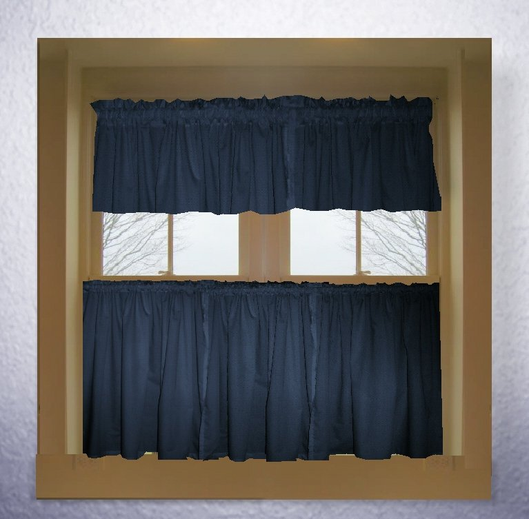 Navy Blue Kitchen Curtains Red Kitchen Curtains
