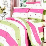 Colorful Life - 100% Cotton 7PC MEGA Duvet Cover Set (King Size)