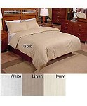 600 Damask Stripe - 3pc King Size Damask Duvet Cover Set 600 Thread Count, 100% Cotton Damask Stripe, Inc. 2 king size shams