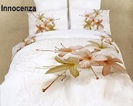 Innocenza by Dolce Mela - 6 PCs Duvet Cover Set, Bed in a Bag King Size in Dolce Mela Gift Box DM417K