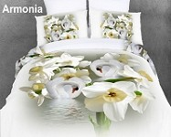 Armonia by Dolce Mela - 6 PCs Duvet Cover Set, Bed in a Bag King Size in Dolce Mela Gift Box DM419K