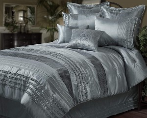 Aiden - 4pc King Comforter Set (Jadestone)