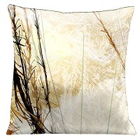 Lama Kasso Pillow #156S, Winter Wonder Land 18″ Square Micro-Suede Accent Pillow