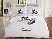 Taurus by Arya-[(The Bull) Messiah Coming to Rule], 6-PC Full-Queen Duvet Cover Set