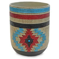 Santa Fe Bath - Rust Waste Basket