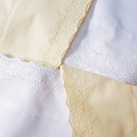 Camden Lace Micro-Denier - Ivory, White Twin, Full, Queen, King, Cal King Sheet Set