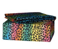 Rainbow Leopard - Multi Color Full Sheet Set