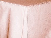Pink Tailored Bedskirt (for cribs and daybeds and twin, twin xl, full, queen, olympic queen, king and cal king sizes with several skirt drop lengths)