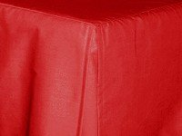 Red Tailored Bedskirt (for cribs and daybeds and twin, twin xl, full, queen, olympic queen, king and cal king sizes with several skirt drop lengths)