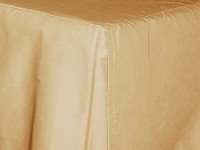 Tan-Beige Tailored Bedskirt (for cribs and daybeds and twin, twin xl, full, queen, olympic queen, king and cal king sizes with several skirt drop lengths)