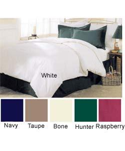 classic 3 pc full queen size classic duvet cover set 205 thread count 100 cotton cambric. Black Bedroom Furniture Sets. Home Design Ideas