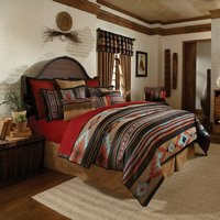 Santa Fe - Rust Full, Queen, King Comforter Set