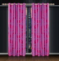 Cliodna, Dolce Mela Damask Window Treatments, Single Panel Grommet Drapes
