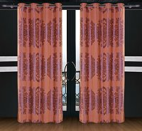 Areon, Dolce Mela Damask Window Treatments, Single Panel Grommet Drapes