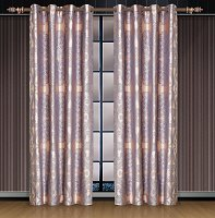 Iris, Dolce Mela Damask Window Treatments, Single Panel Grommet Drapes