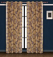 Venus, Dolce Mela Damask Window Treatments, Single Panel Grommet Drapes