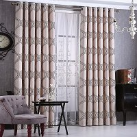 Window Semi-Blackout Curtain / Drape Panel, Cannes