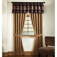 Santa Fe - Espresso 84″ Long Curtain