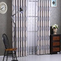 Window Semi-Blackout Curtain / Drape Panel, Monaco