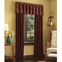 Pueblo - Rust 84″ Long Curtain