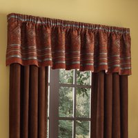Pueblo - Rust Tailored Valance