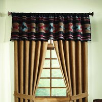 Santa Fe - Rust Tailored Valance