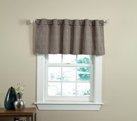 Circuit - Teal 50 X 18 Lined Valance