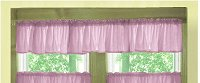 Solid Violet Purple Color Valances (set of two 40 inch wide, available in many lengths)
