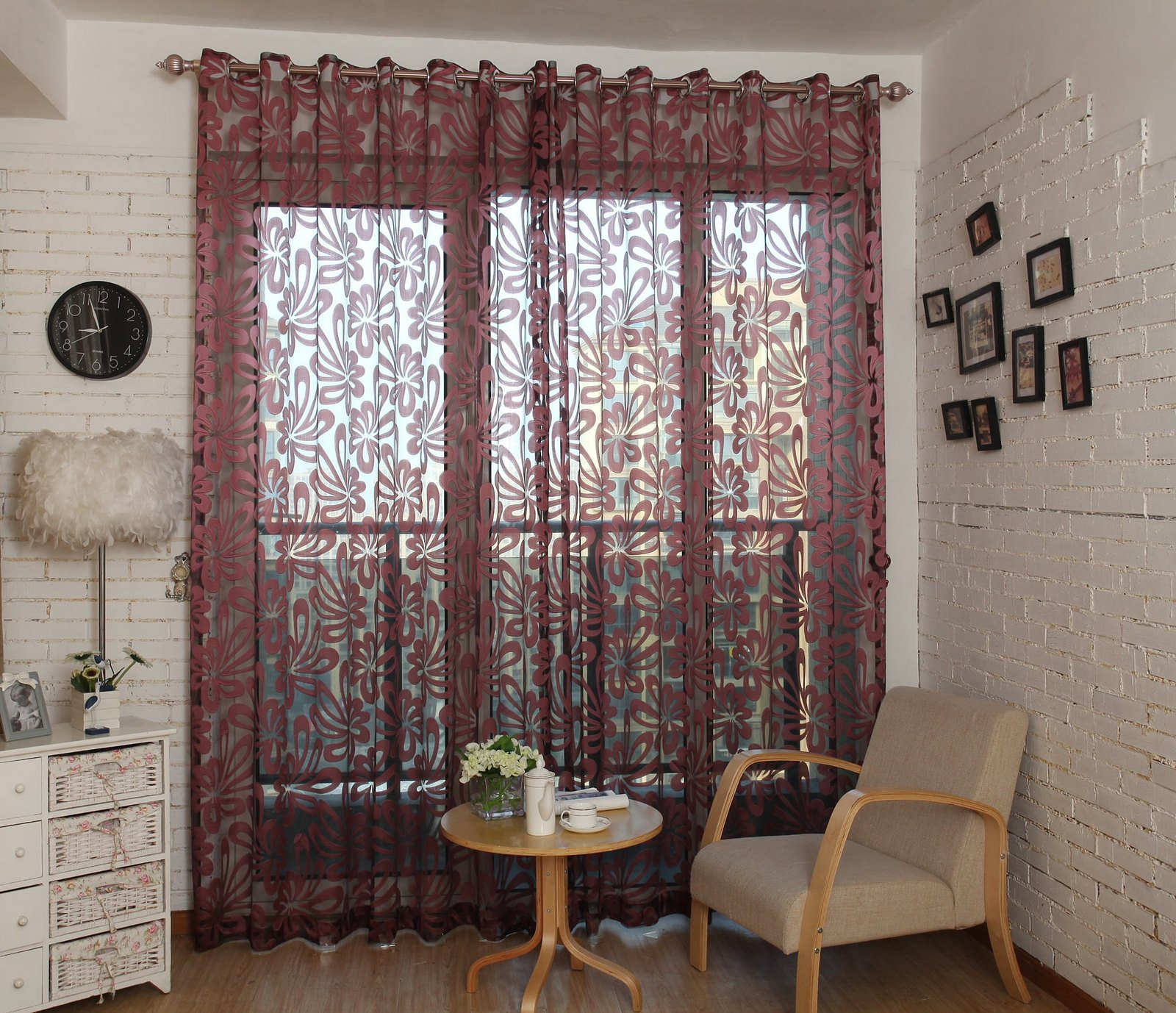 Sheer Curtains Window Treatments