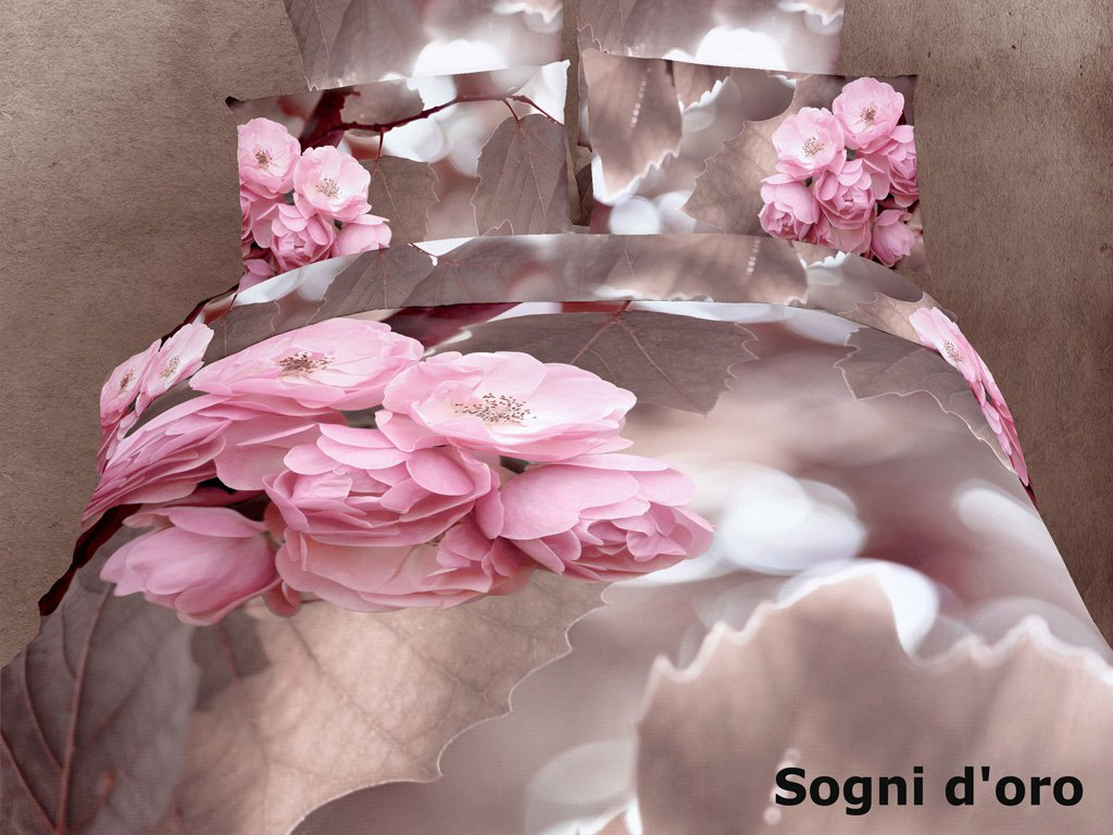 Sogni D Oro By Dolce Mela 6 Pc Duvet Cover Set Bed In A