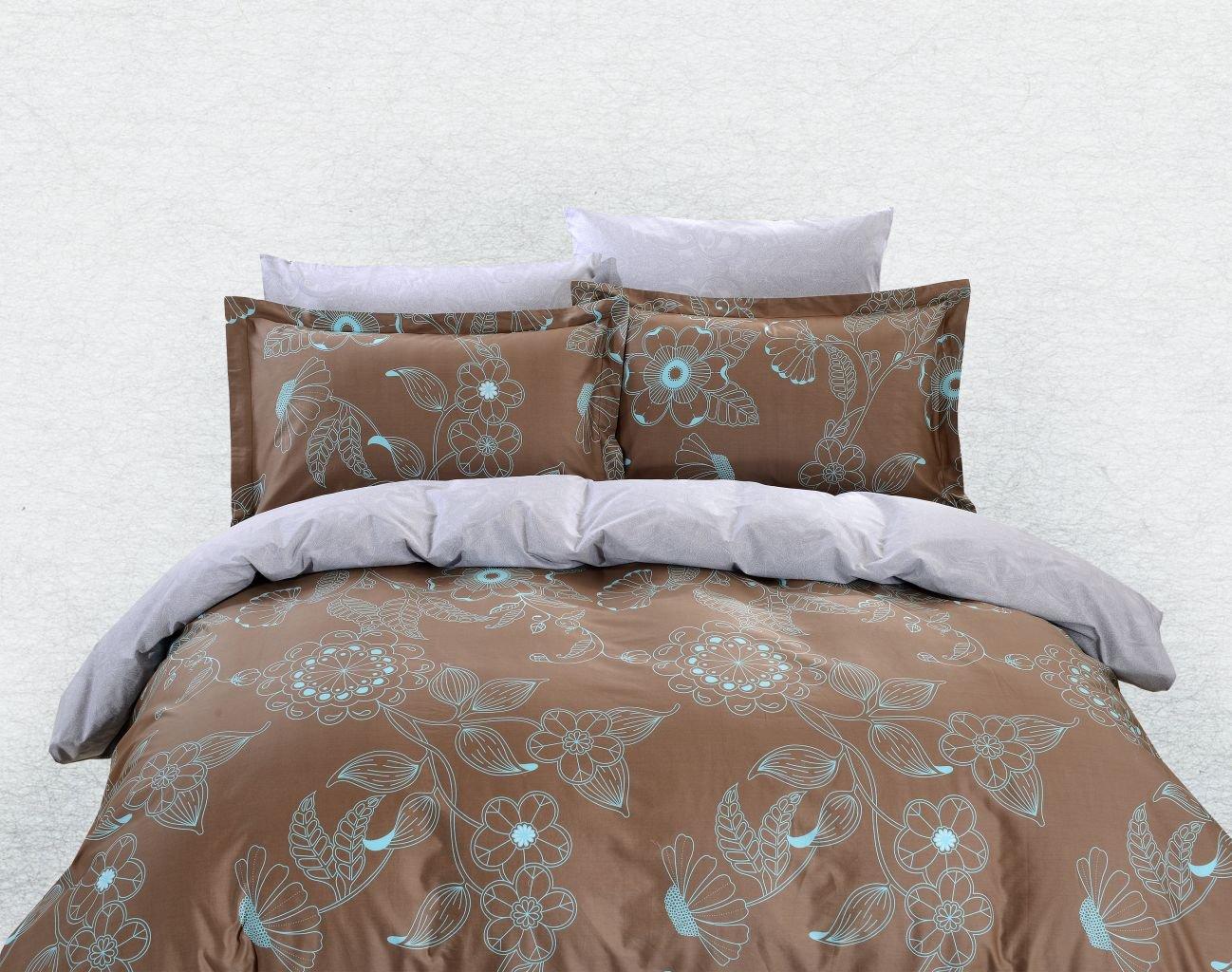 Duvet Cover Set Luxury Queen Bedding Dolce Mela Dm629q