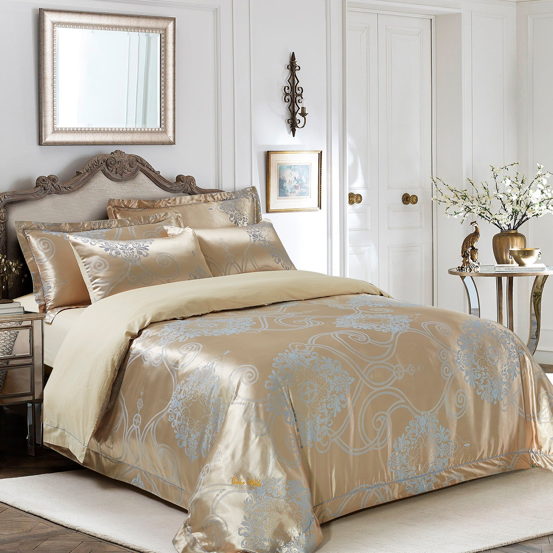 Verona By Dolce Mela Bedding Luxury King Size Duvet Cover