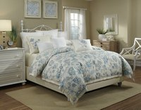 Bellevue - Blue Full-Queen Duvet Set