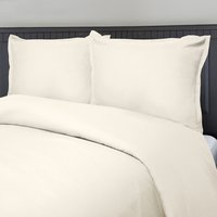 Micro Matique Duvet Set - Ivory Queen, King