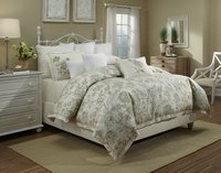 Jardin - Sage Full-Queen, King Duvet Set