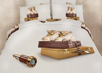 Best Friends - Teen Bedding Dorm Room Extra Long Twin Duvet Cover Set by Dolce Mela, DM484T