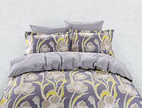 Duvet Cover Sheets Set, Dolce Mela Nafplio Queen Size Bedding